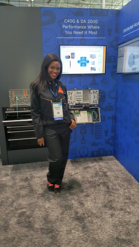 Cassandra E - pro10 - Trade Show Model