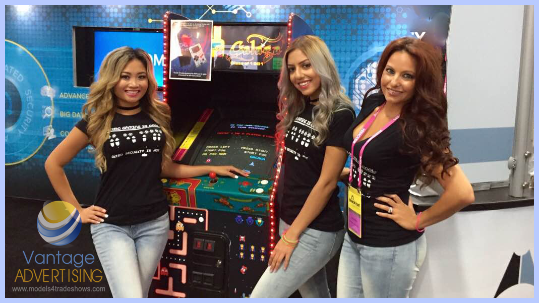 three las vegas promotional models