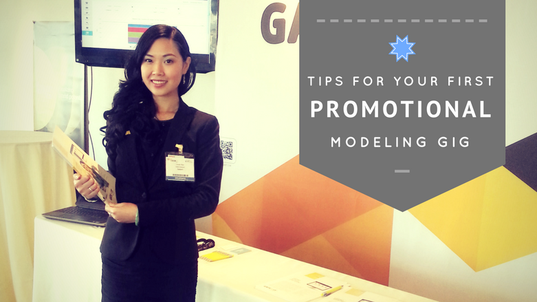 tips for your first promotional modeling gig