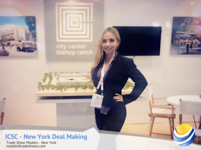 New York City Trade Show Booth Hostess